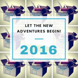Let the new adventures begin!