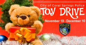 Downtown in December: Toy Drive