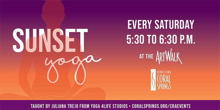 Sunset Yoga in South Florida