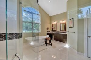 Stunning Updated Grand Master Suite with Fireplace