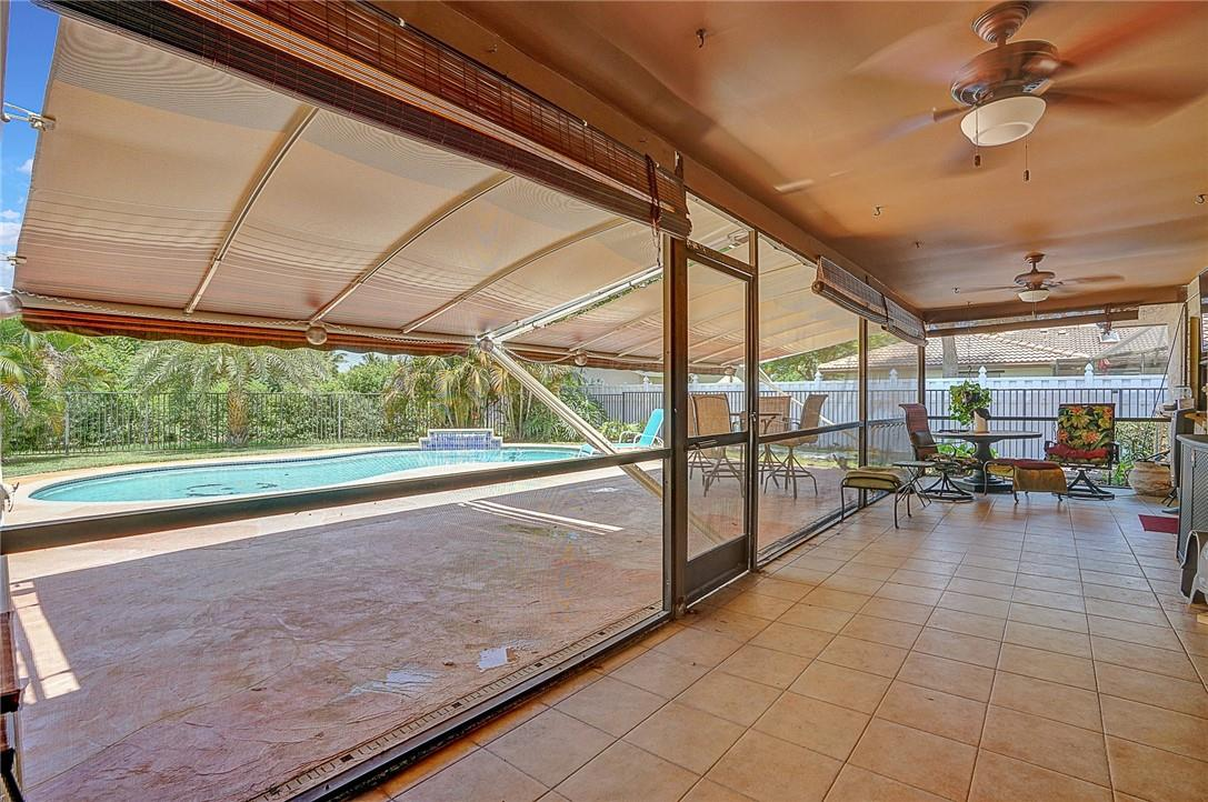 Kitchen for Easy Access to Patio and Pool
