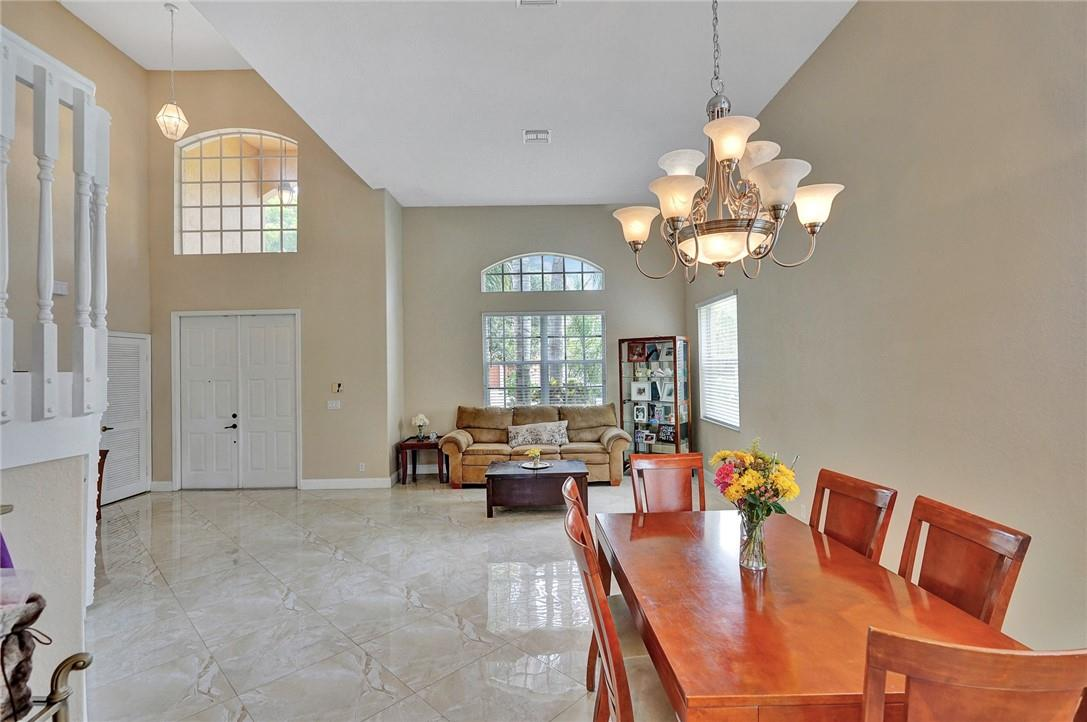 Spectacular Entry with Vaulted Ceilings