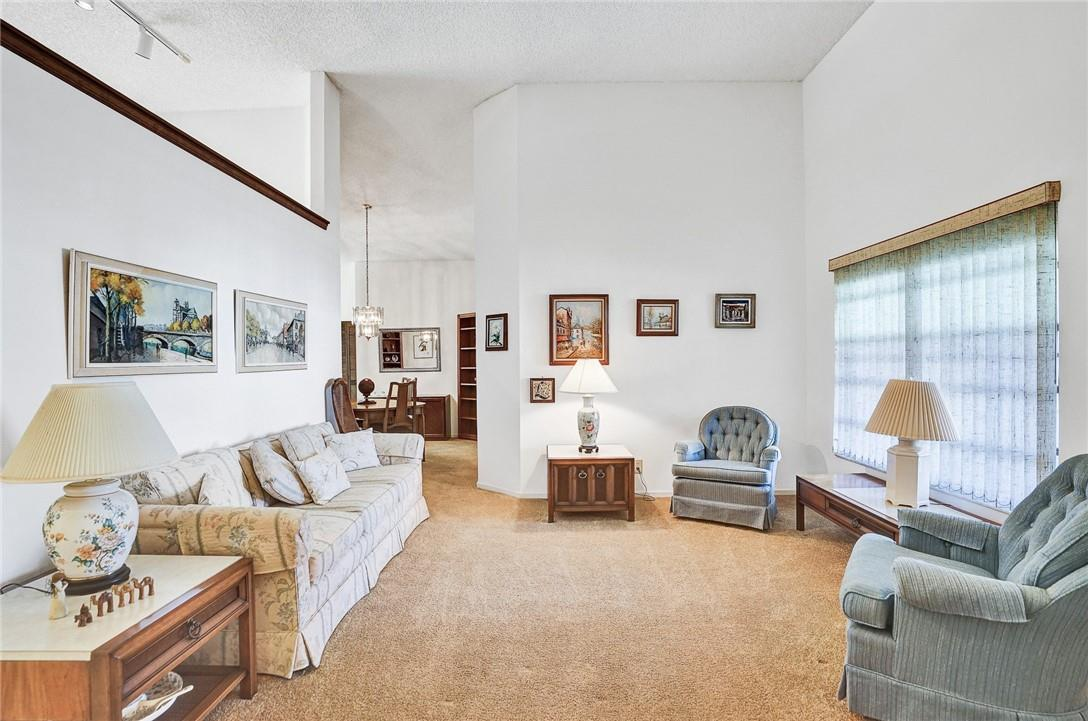 Neutral Colors and Vaulted Ceilings