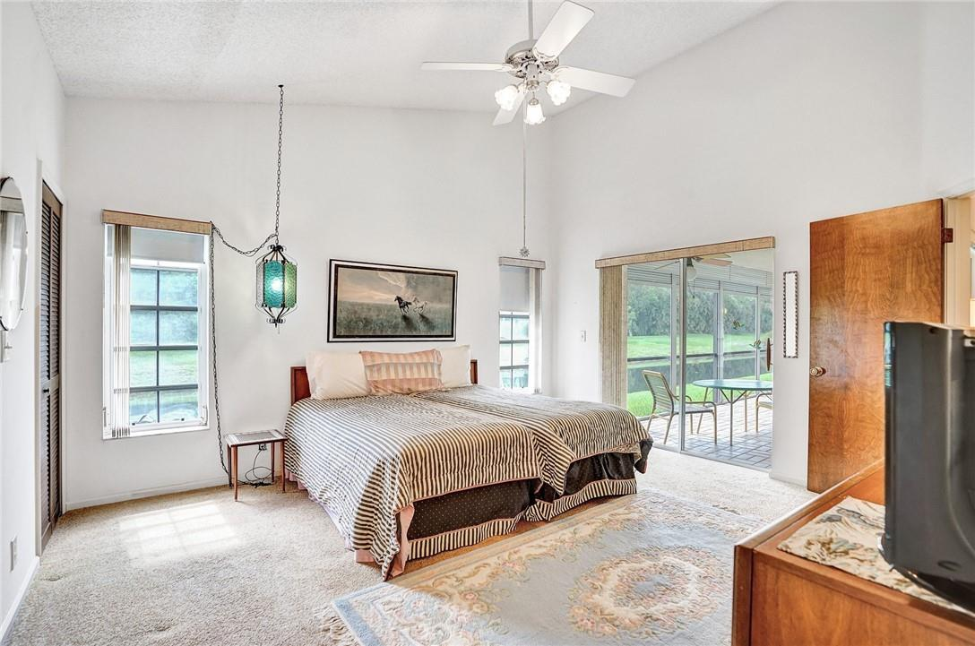 Master Bedroom with Preserve and Water Views
