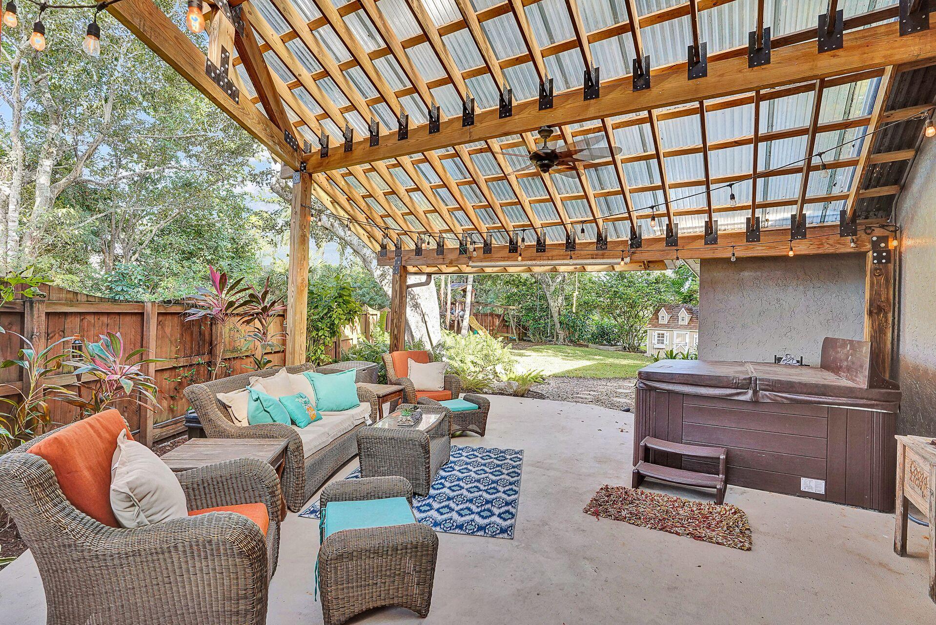 Beautiful Backyard Coral Springs