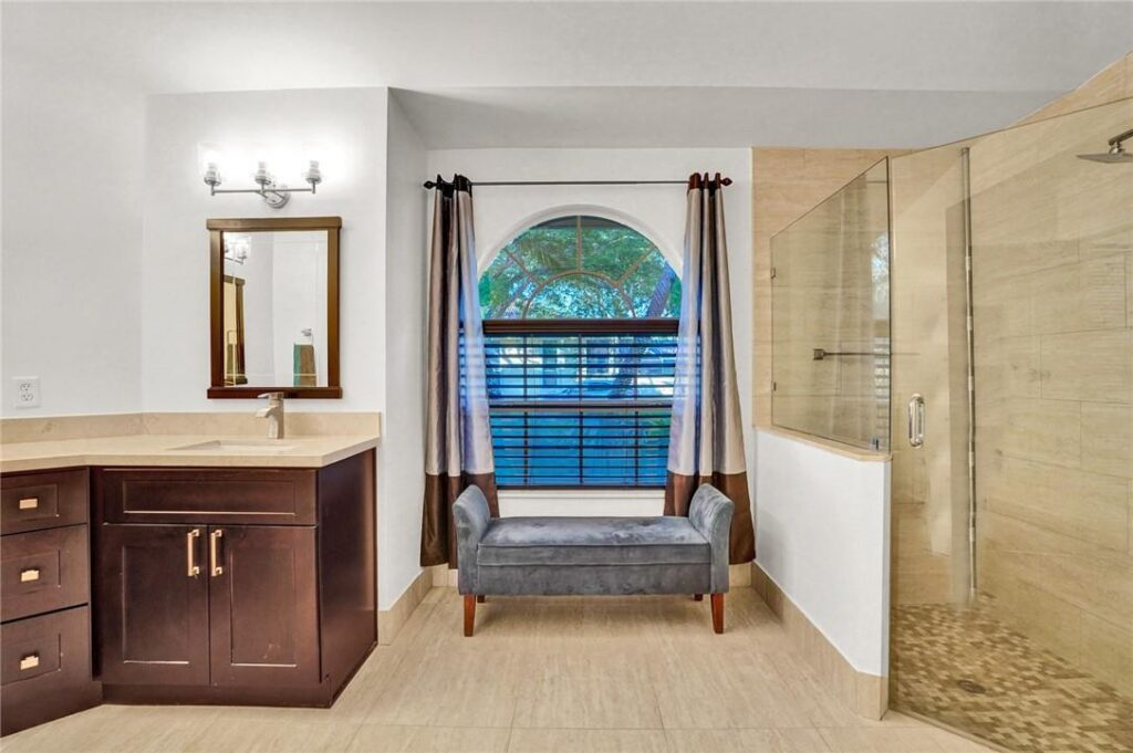Master Bathroom in Coral Springs