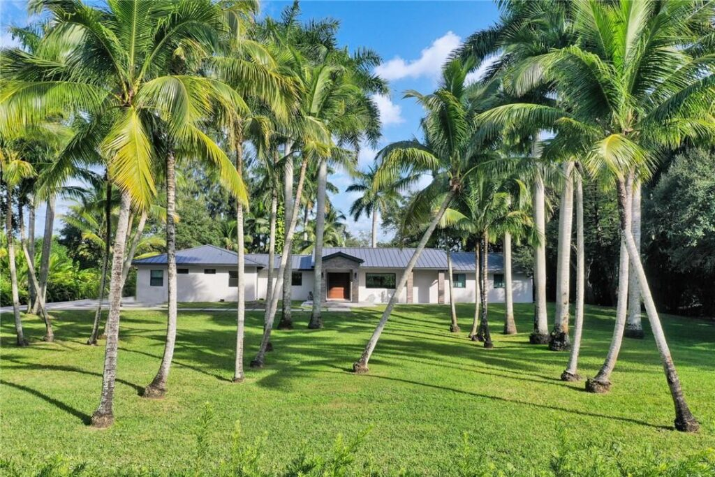 Gorgeous Home with Palm Trees
