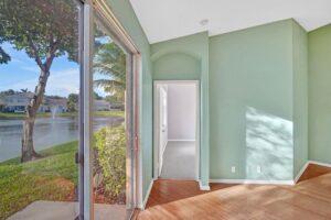 Glass Doors and Beautiful Lake View