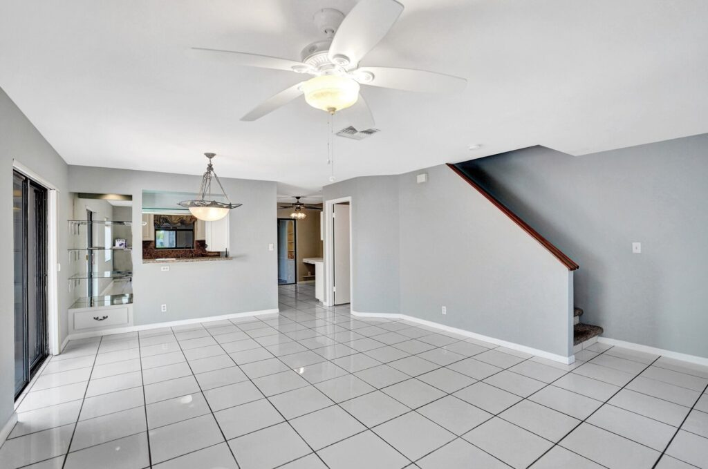 Maintained Interior with Bright Tile Floors