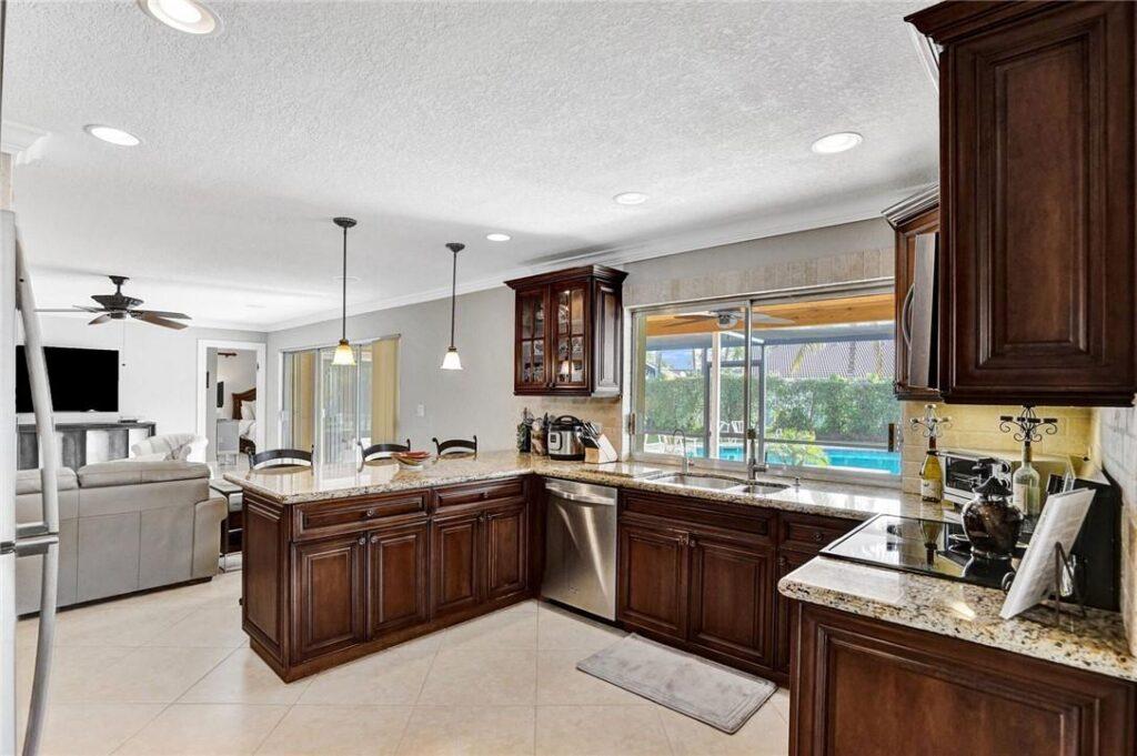 Beautiful Kitchen and Expansive Window