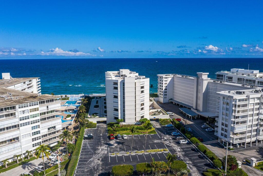 Beautiful Ocean Views from Building